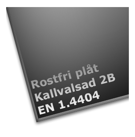 Syrafast Plåt Kallvalsad 2B