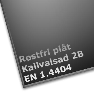 Rostfri Plåt 4404 2B