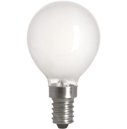 Filament LED-lampa E14 Klot Matt