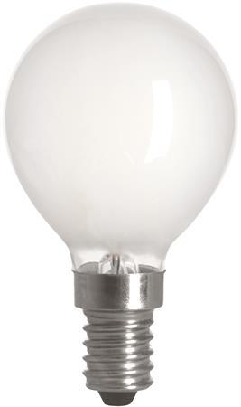 Filament LED-lampa E14 Klot Matt